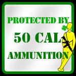 50 cal ammo